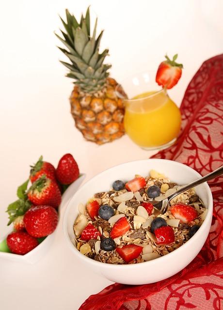 Gezond ontbijt suggesties met muesli