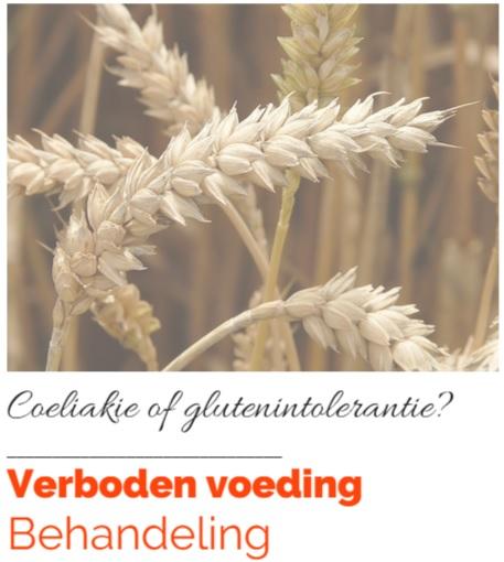 gluten coeliakie en verboden voeding