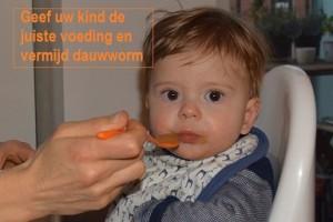 dauwworm en kindervoeding